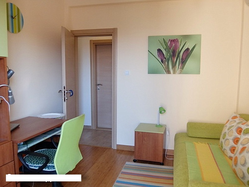 Квартира с видом на море в зеленом районе в Бечичи