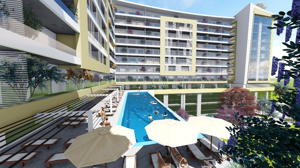 Апартаменты в ЖК на 1 линии в Будве