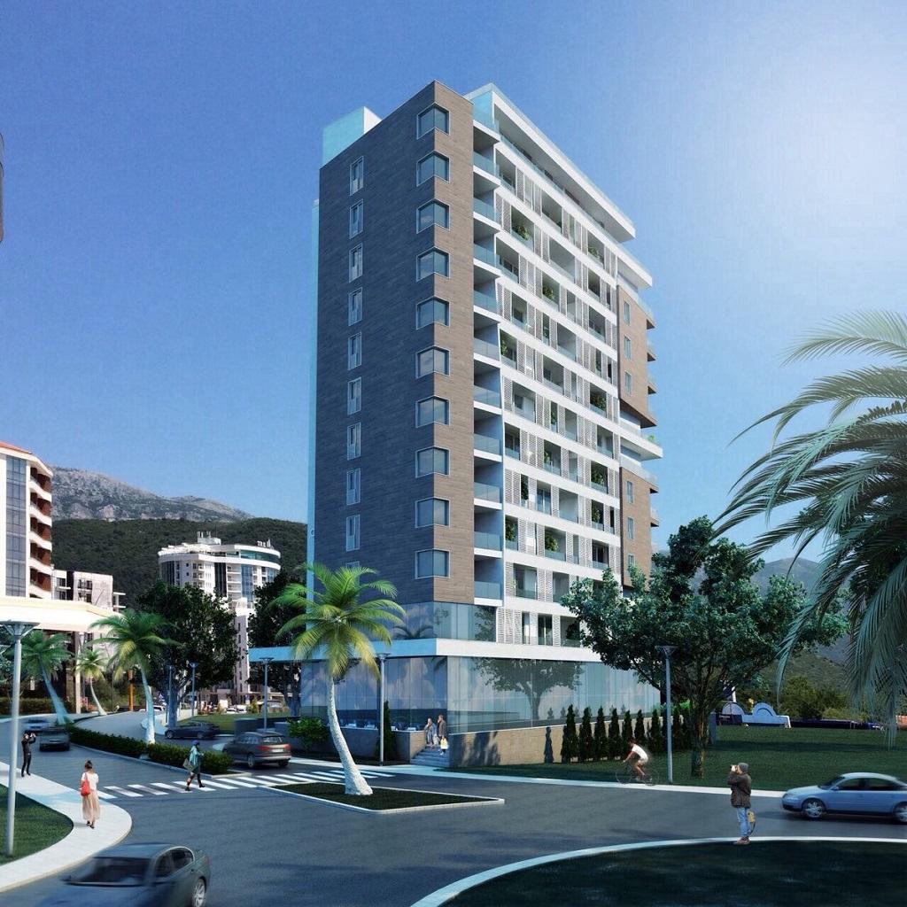 Апартаменты с фронтальным видом на море на 1 линии