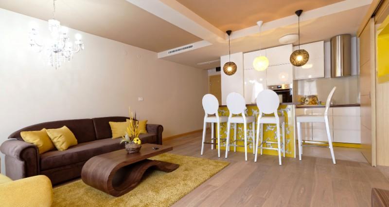 Меблированная квартира в новом доме