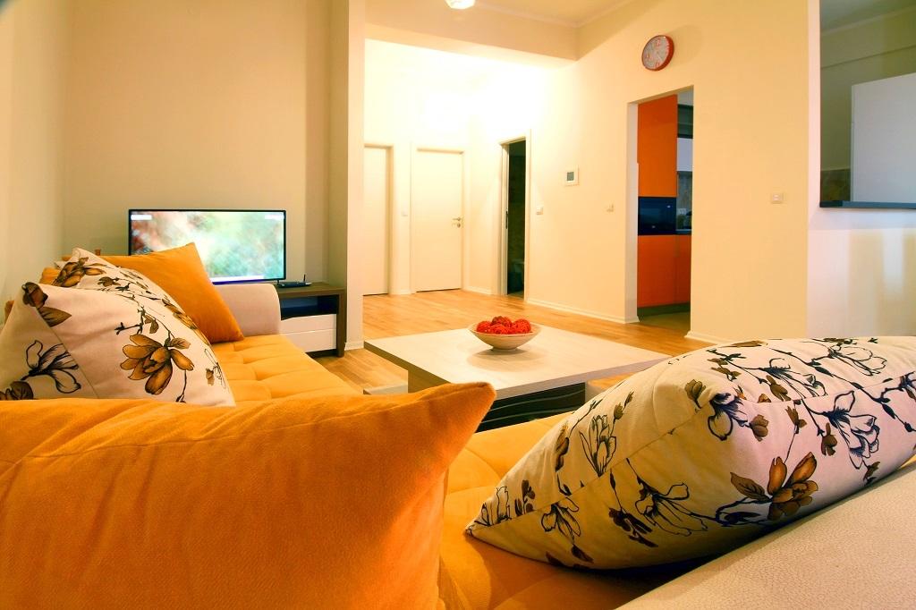 Апартаменты с 2 спальнями с видом на море