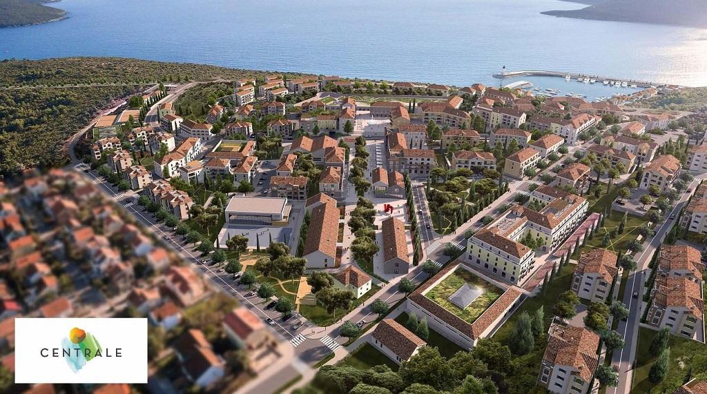 Апартамент в районе Centrale в комплексе Lustica Bay
