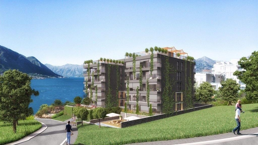 Квартира с 1 спальней в комплексе с видом на залив
