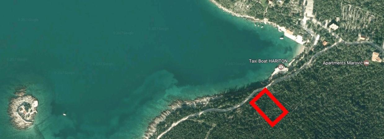 Участок на 1 линии на полуострове Луштица
