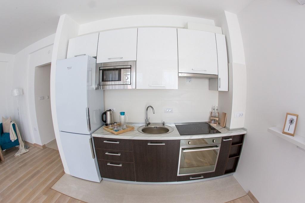 Квартира с 1 спальней в новом комплексе в Тивате