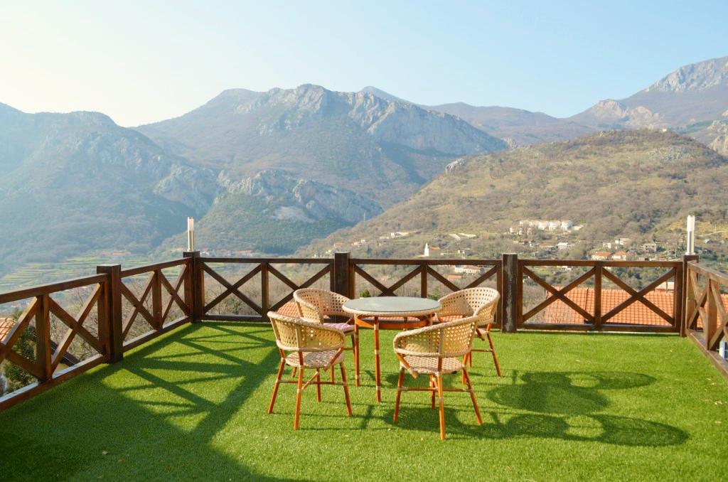 Комфортный таунхаус с красивым видом на горы