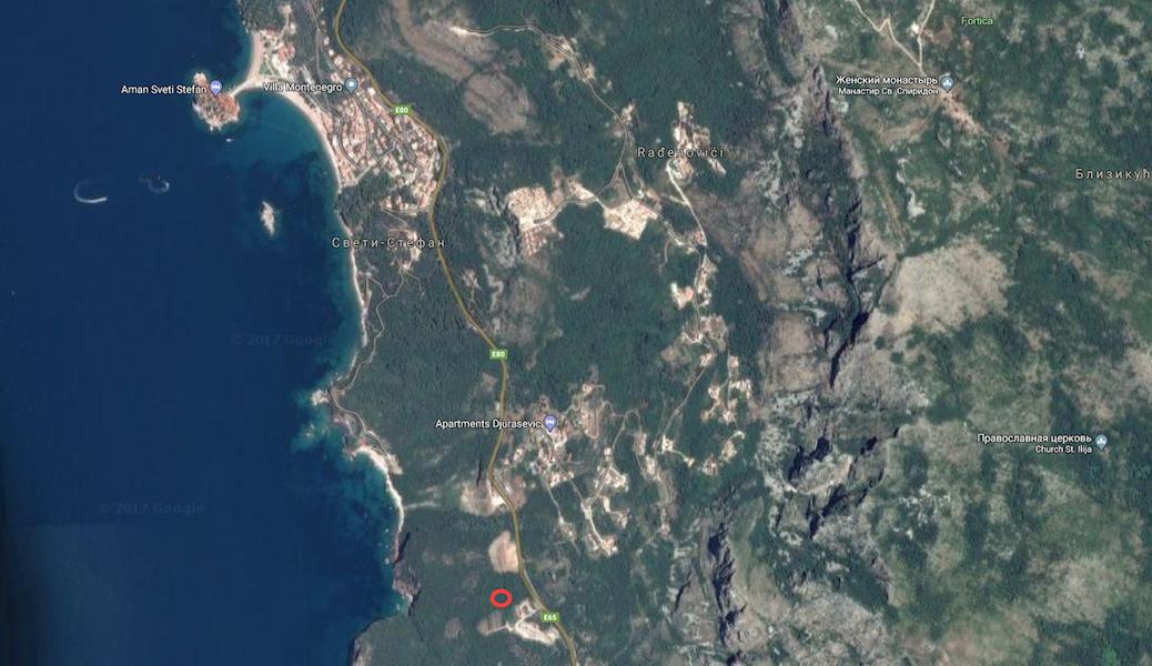 Урбанизированный земельный участок в Режевичи