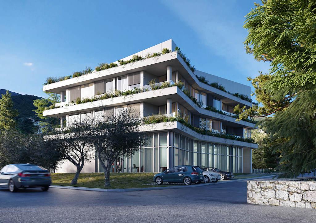 Апартамент в современном жилом комплексе в 100 м от пляжа