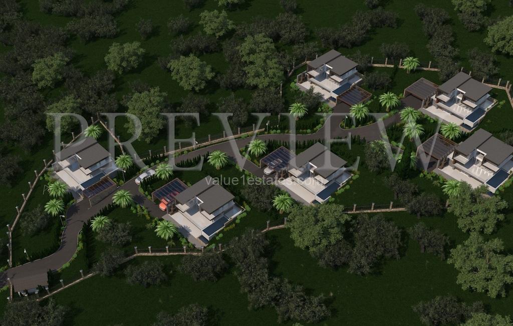 Урбанизированный участок с проектом в Булярице
