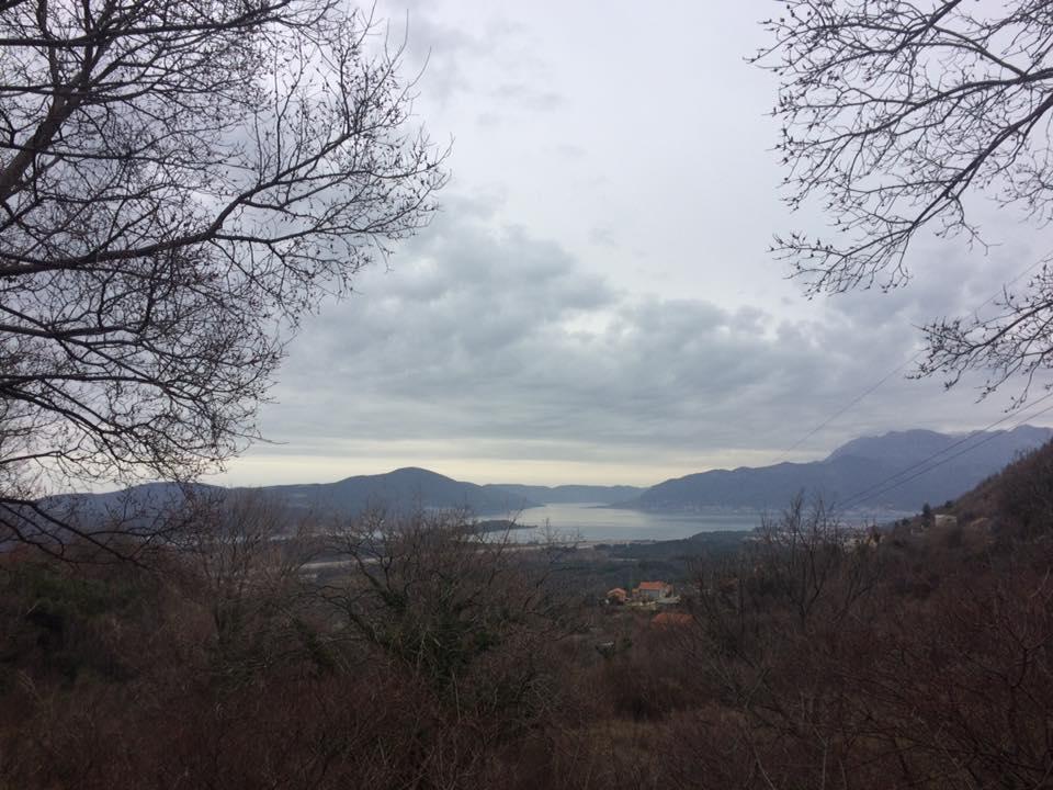 Участок в Кавач с видом на Тиват