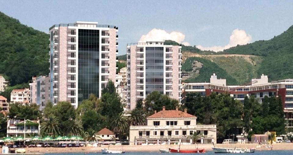 Квартира в новом ЖК в 50 м от моря