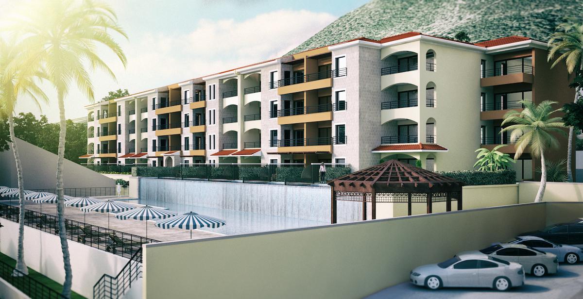 Урбанизированный участок с проектом у моря в Баошичи