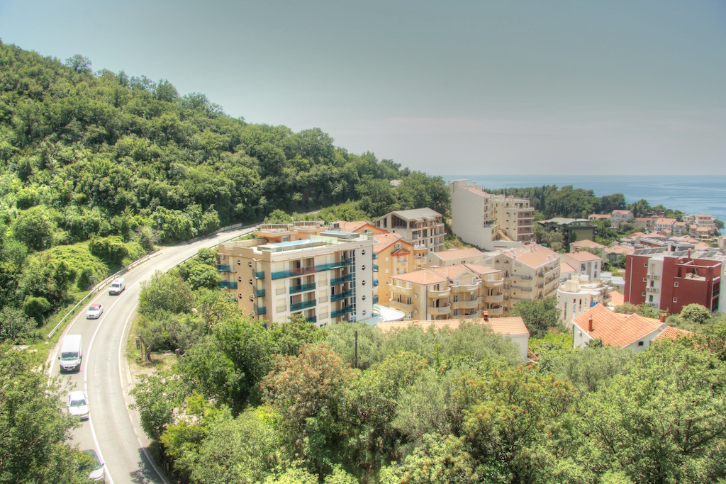 Квартира в Пржно с панорамным видом на море