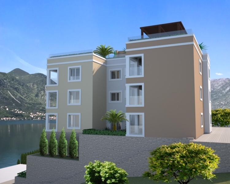 Апартамент с двумя спальнями в новостройке в Доброте