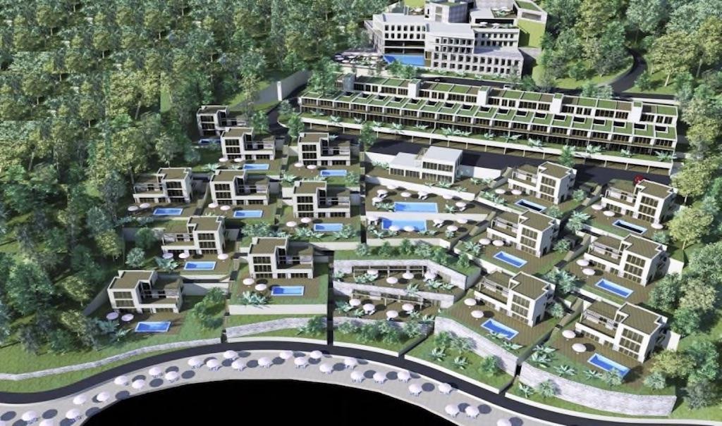 Урбанизированный участок с проектом в 100 м от моря в Булярице