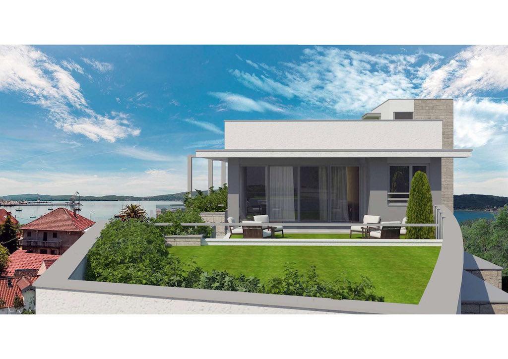 Пентхаус в новом жилом комплексе в Тивате