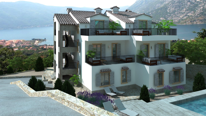 Стильные апартаменты в новом комплексе с бассейном