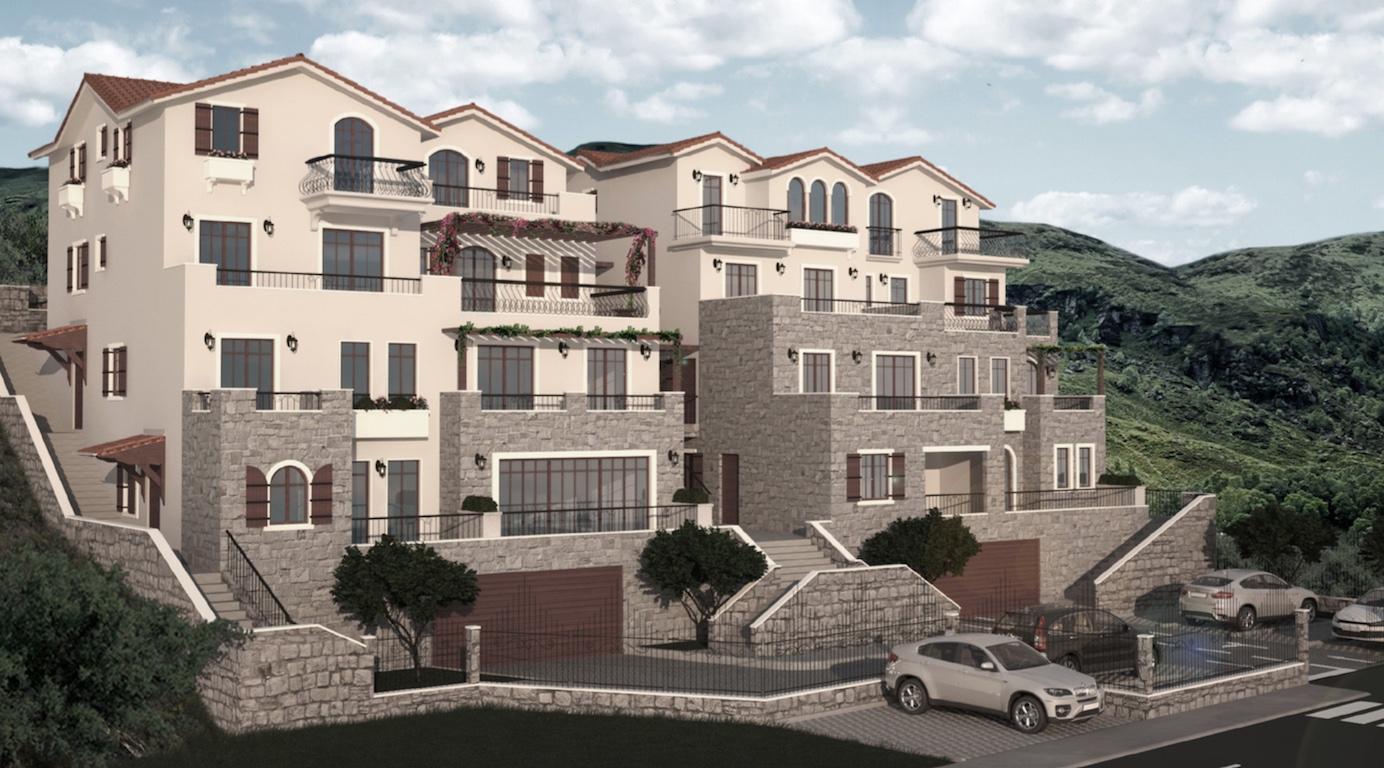Апартамент в новом ЖК премиум класса в Опатово, Тиват