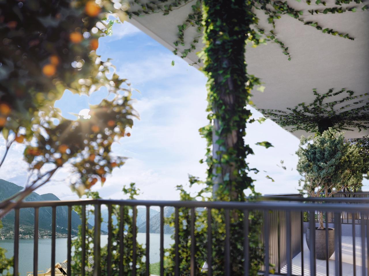 Апартамент с тремя спальнями в новом ЖК с панорамным видом на залив