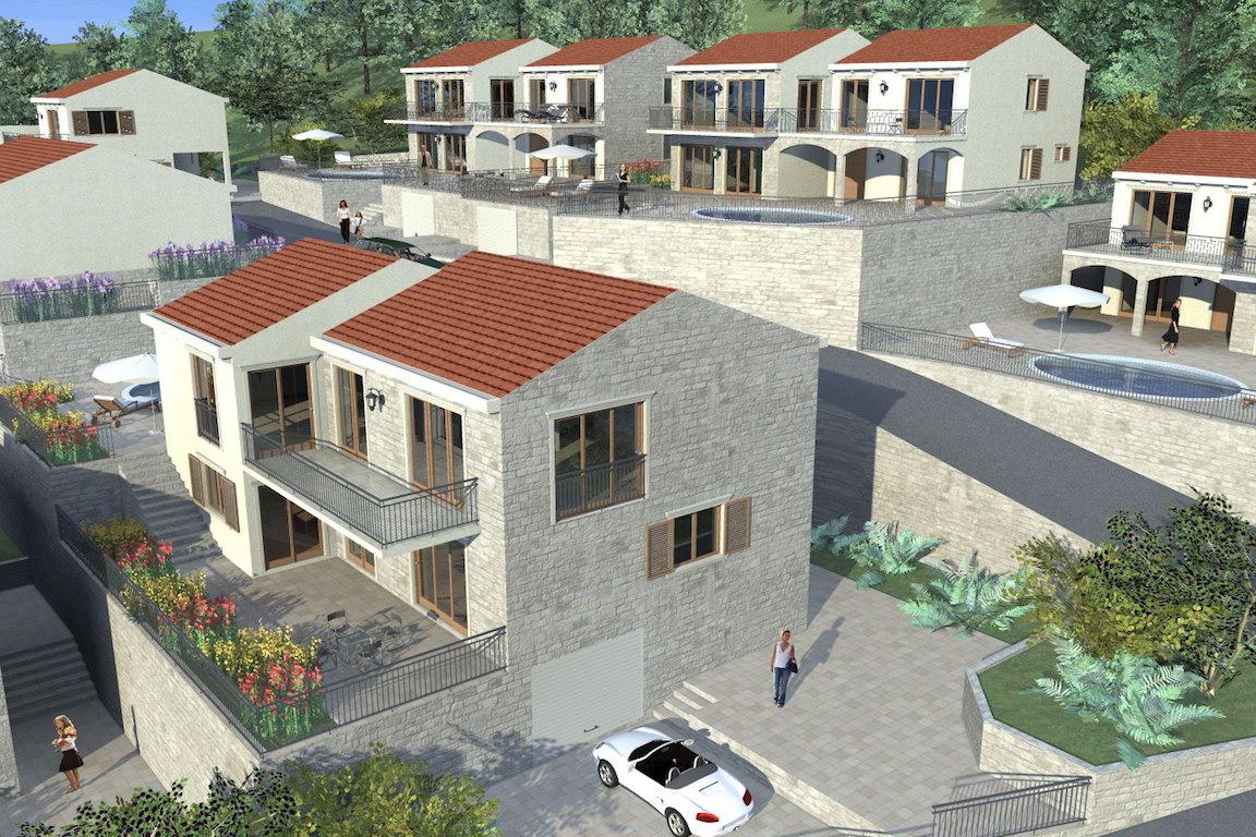 Участок с проектом коттеджного поселка в Куляче
