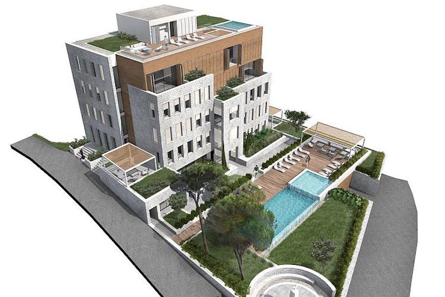 Апартамент в новом жилом комплексе премиум класса в Тивате