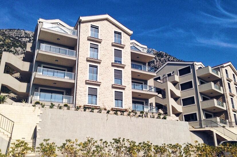 Апартаменты с прекрасным видом на Которский залив