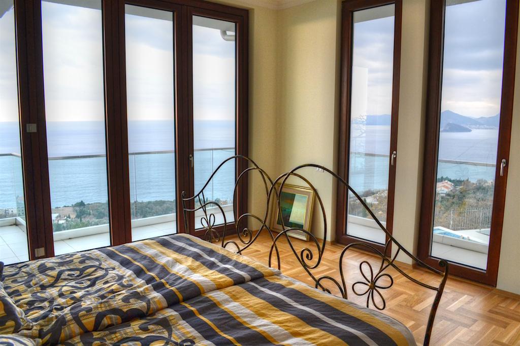Вилла с панорамным видом на Адриатическое море