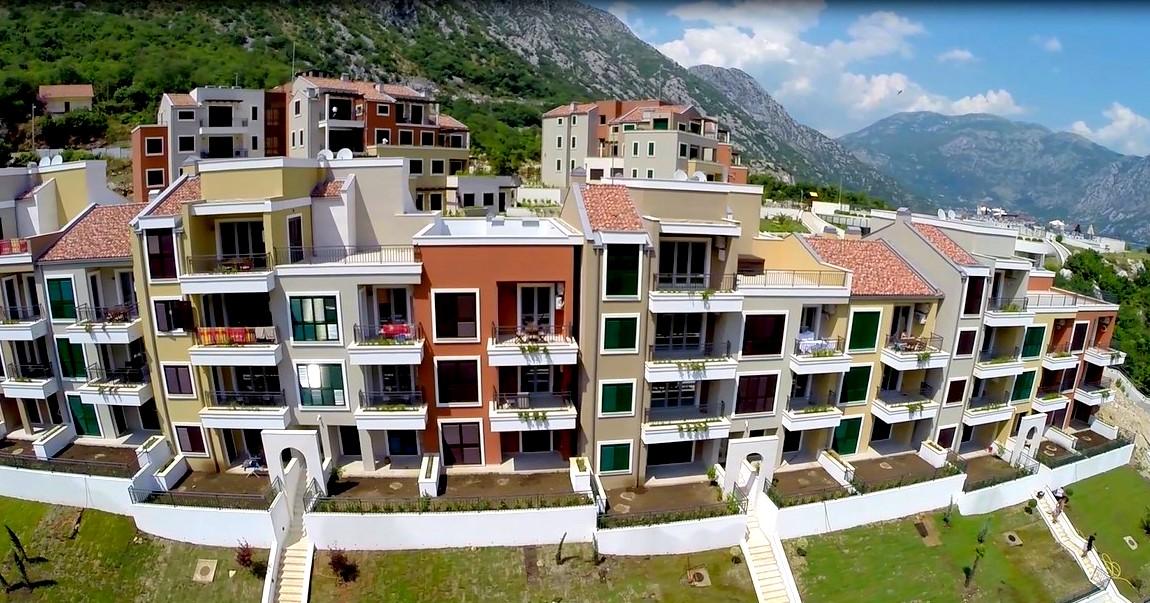 Квартира с видом на залив в клубном комплексе