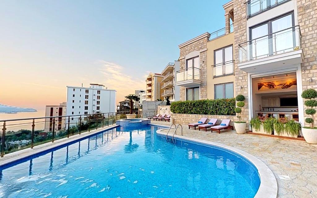 Апартаменты в черногории с бассейном рейтинг городов сша для жизни